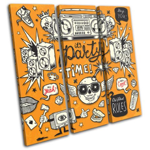 "It's Party Time"" Illustration - 13-0591(00B)-TR11-LO"
